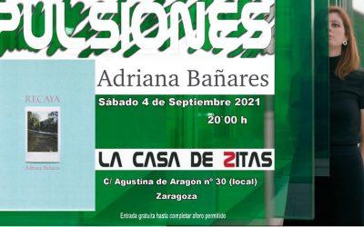 Nuevo Pulsiones con Adriana Bañares