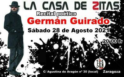 Recital poético de Germán Guirado