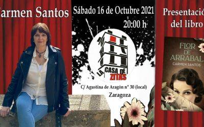 Presentación libro de Carmen Santos
