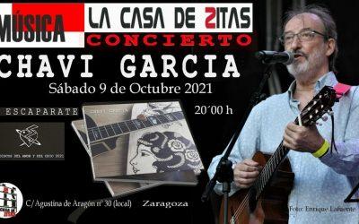 Concierto de Chavi García