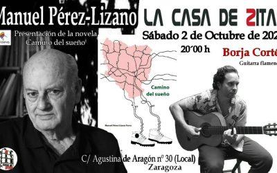 Presentación libro de Manuel Pérez-Lizano