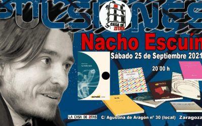 Nuevo Pulsiones con Nacho Escuín