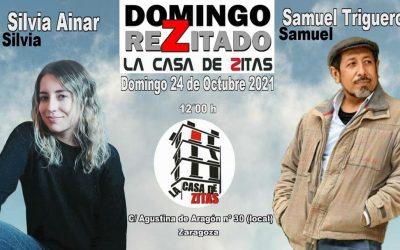 Domingo Rezitado con Samuel Trigueros y Silvia Ainar